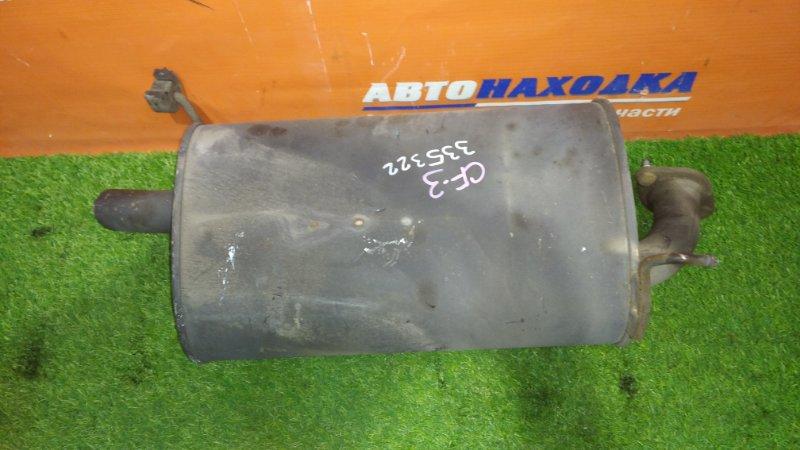 Глушитель Honda Accord CF3 F18B 1997 бочка задняя