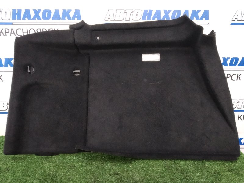 Обшивка багажника Peugeot 407 6D ES9A 2004 задняя левая левая, седан, из 2-х частей, черная