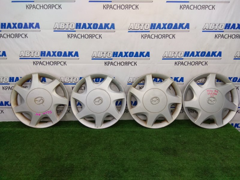 Колпаки колесные Mazda Bongo Friendee SGLW WL-T 1999 Оригинал, R15, комплект 4 шт, потертости, дефект