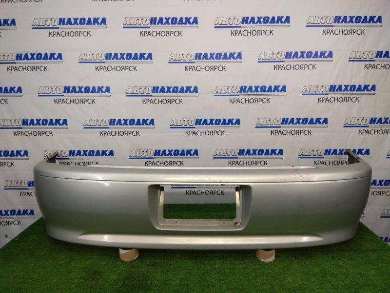 Бампер Toyota Corolla Spacio AE111N 4A-FE 1999 задний задний, серебристый (1C0), 2 модель (рестайлинг),