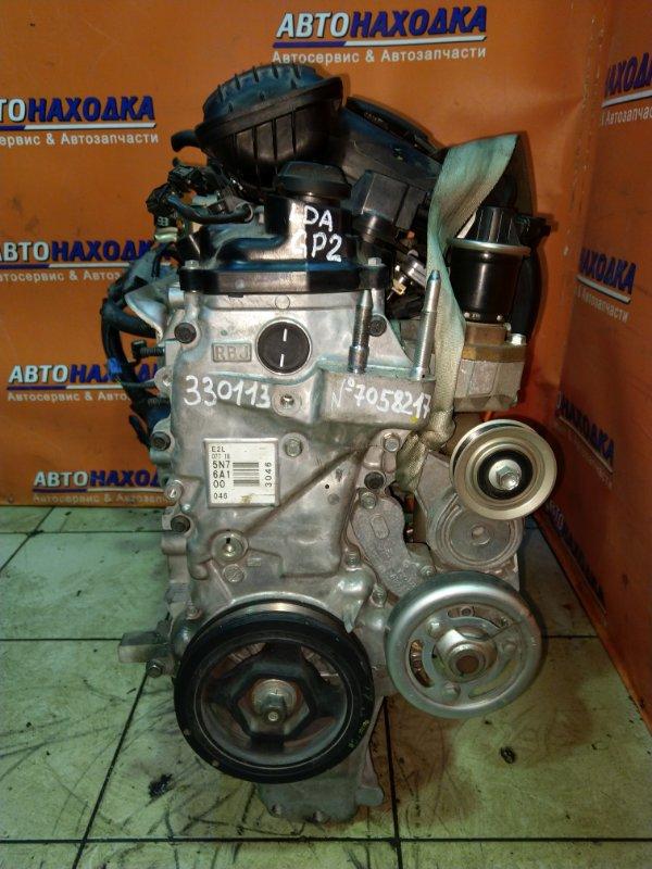 Двигатель Honda Fit Shuttle Hybrid GP2 LDA 2011 7058217 87T.KM, БЕЗ НАВЕСНОГО.