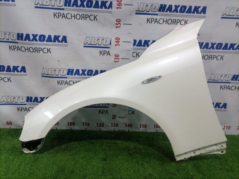 Крыло Toyota Mark X GRX120 4GR-FSE 2004 переднее левое Переднее левое, с клипсой повторителем,