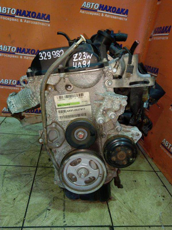 Двигатель Mitsubishi Colt Plus Z23W 4A91 02.2007 0037911 53T.KM, БЕЗ НАВЕСНОГО,