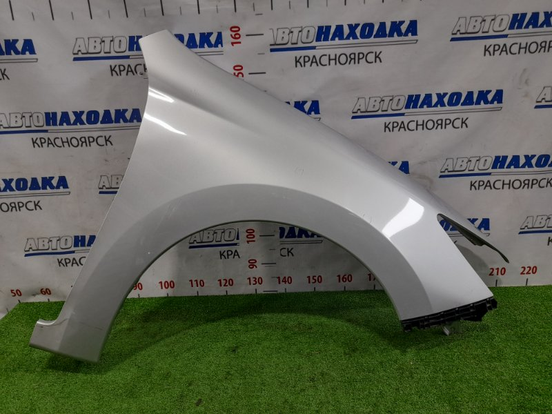 Крыло Subaru Exiga YA5 EJ20 2008 переднее правое переднее правое, с клипсой, накладкой в торец.