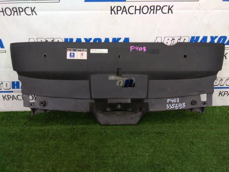 Накладка на телевизор Peugeot 407 6D ES9A 2004 верхняя верхняя накладка рамки радиатора, где
