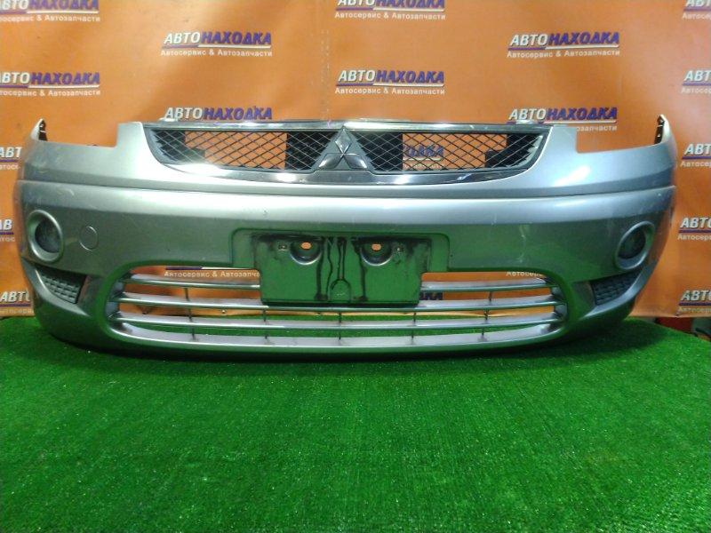 Бампер Mitsubishi Colt Plus Z23W 4A91 2009 передний MN170471 ТУМАНКИ. +РЕШЕТКА.