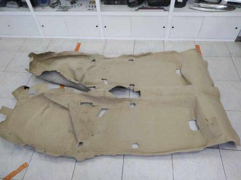Обшивка пола Honda Fit Aria GD8 L15A 2002 Ковровое покрытие пола в салон, под чистку.