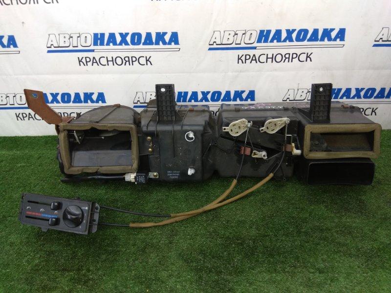 Радиатор печки Mazda Bongo Friendee SGLW WL-T 1999 задний задний отопитель в сборе, (2 радиатора,