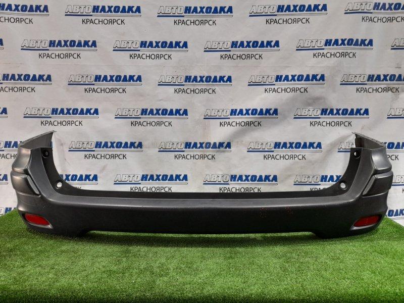 Бампер Nissan Ad VY12 HR15DE 2006 задний Задний, с катафотами, есть царапины.