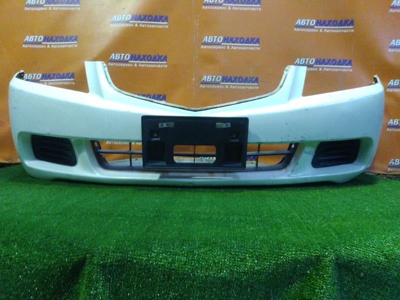 Бампер Honda Accord CM2 K24A передний 1MOD. НИЗ МЯТЫЙ. ЗАГЛУШКИ
