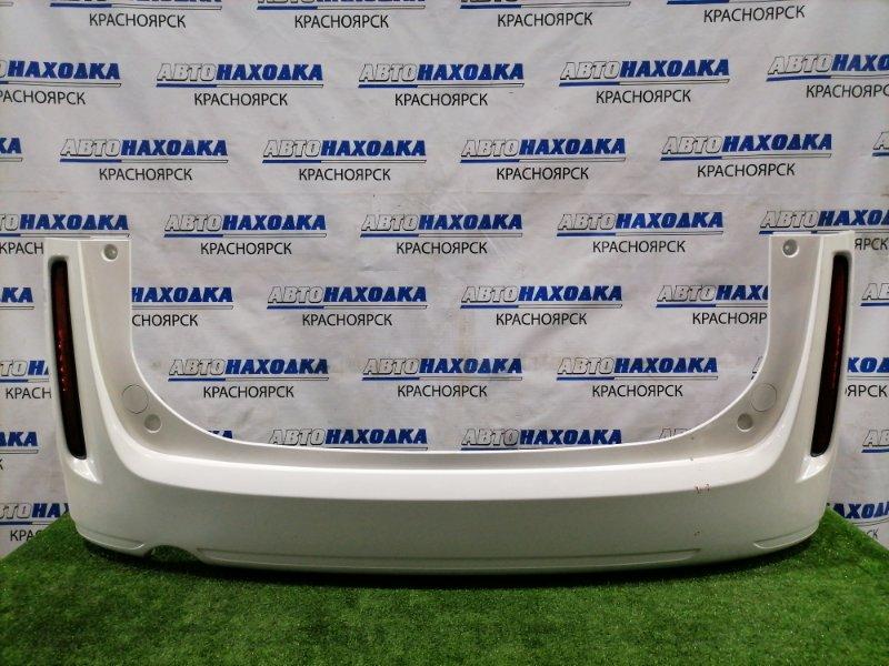 Бампер Mazda Biante CCEFW L3-VDT 2008 задний Задний, с катафотами (P7943), есть сколы ЛКП, потертости
