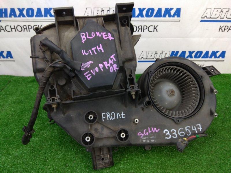 Радиатор печки Mazda Bongo Friendee SGLW WL-T 1999 передний передний отопитель, часть корпуса с