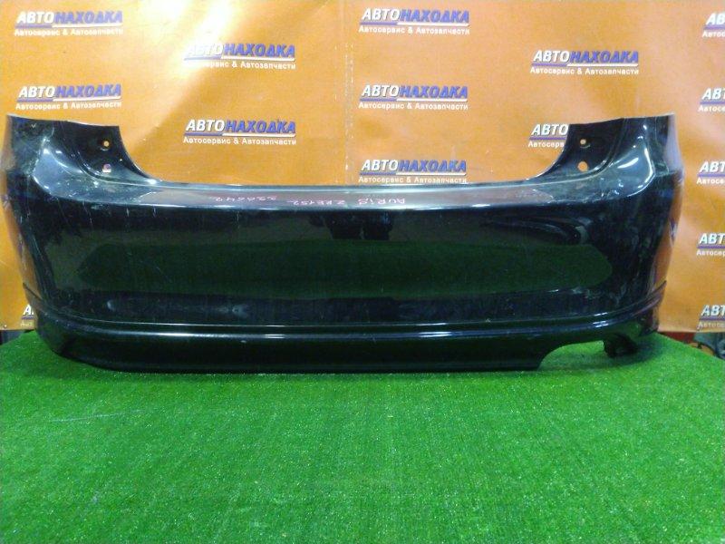 Бампер Toyota Auris ZRE152 1ZR-FAE задний 52159-12A40 1MOD. ГУБА