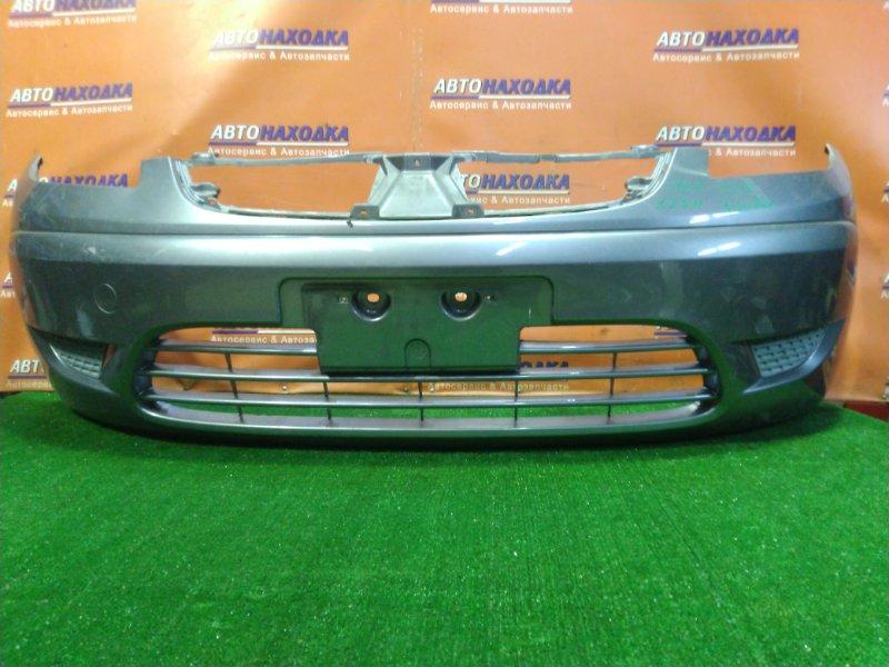 Бампер Mitsubishi Colt Plus Z23W 4A91 передний MN170471 ПОД РЕШЕТУ В БАМПЕРЕ. ЗАГЛУШКИ.