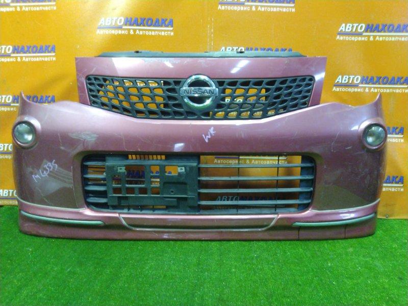Бампер Nissan Moco MG33S R06A передний 71711-50MA0 +ПОВТОРИТЕЛЬ 35601-50M0