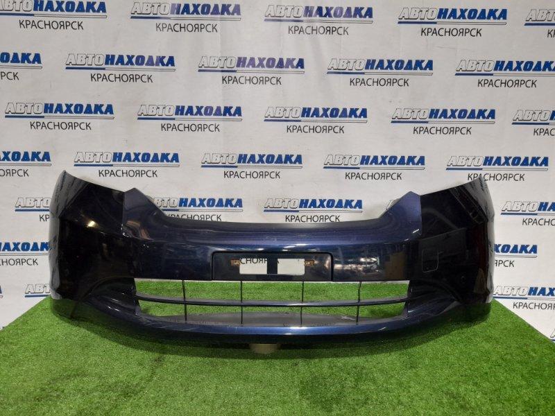 Бампер Honda Freed GB3 L15A 2008 передний Передний, дорестайлинг. Есть потертости до пластика.