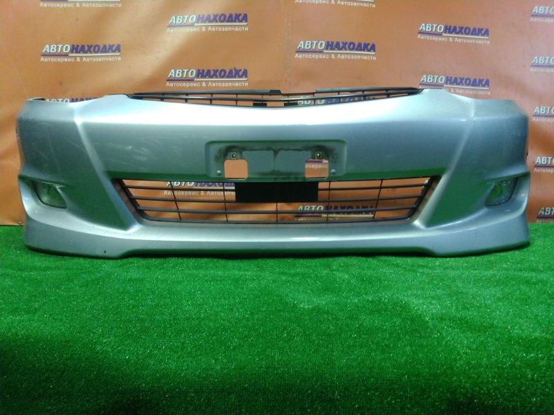 Бампер Toyota Wish ZNE10 1ZZ-FE передний 51119-68903 2MOD. ТУМАНКИ 12-495, +РЕШЕТКА.