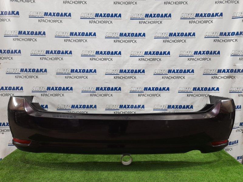 Бампер Nissan Presage TU31 QR25DE 2006 задний задний, с катафотами (020784). Есть царапины, потертости
