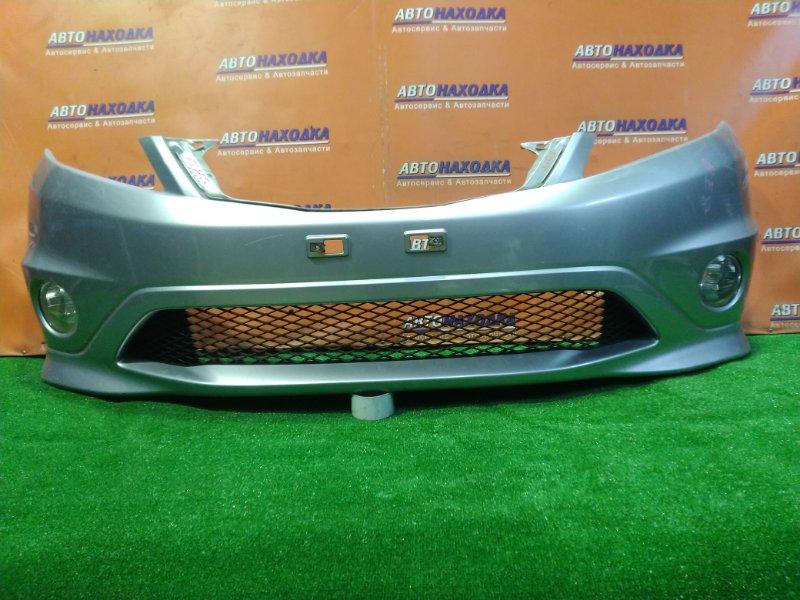 Бампер Honda Edix BE8 K24A передний 71101-SJDJ-00ZG ТУМАНКИ 114-22699