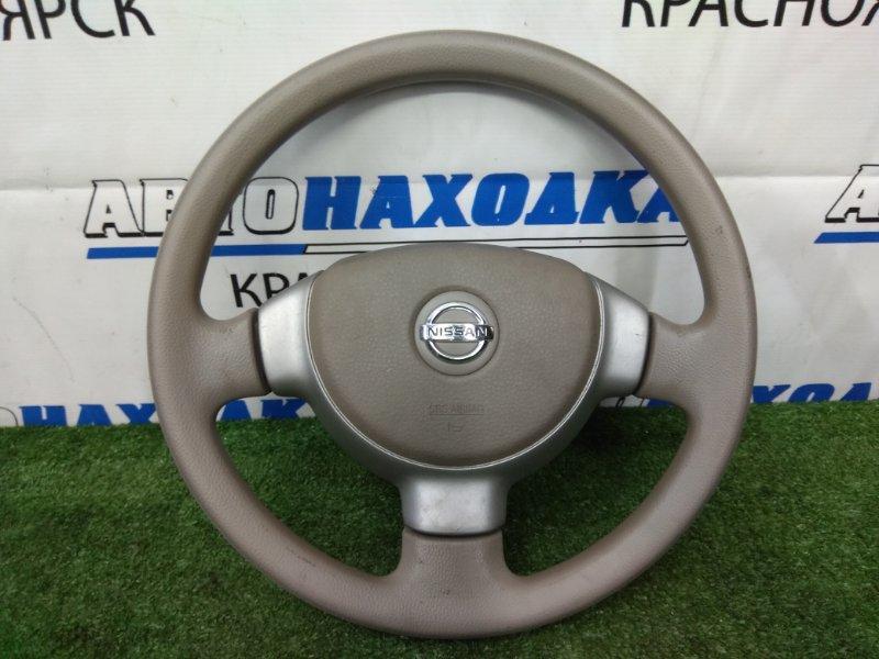 Airbag Nissan Moco MG21S K6A 2002 Водительский, с рулём, без заряда
