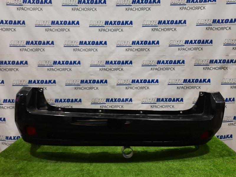 Бампер Honda Hr-V GH3 D16A 2001 задний Задний, рестайлинг, с катафотами. Есть потертости до