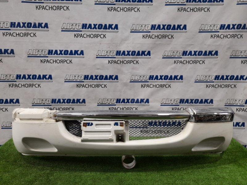 Бампер Toyota Duet M100A EJ-DE 1998 передний передний, дорестайлинг, цвет W09, есть царапинки,