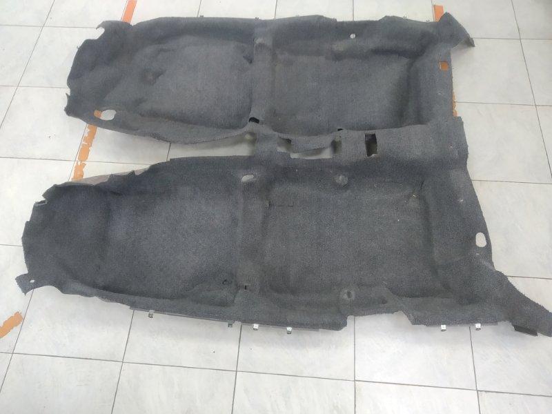 Обшивка пола Toyota Corona Exiv ST182 3S-FE 1989 В ХТС, ковровое покрытие пола в салон, снято с