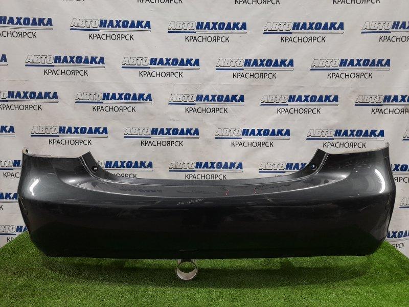 Бампер Toyota Belta NCP96 2NZ-FE 2005 задний Задний, цвет 1E0, с сонарами. Есть царапины, потертости