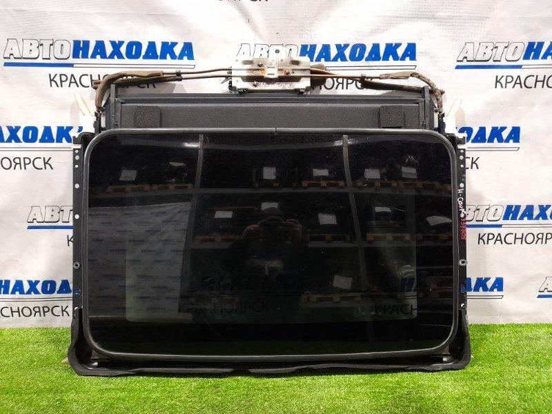 Люк Hyundai Coupe GK G6BA 2002 электрический сдвижной в сборе: размер стекла 840мм*520мм, со