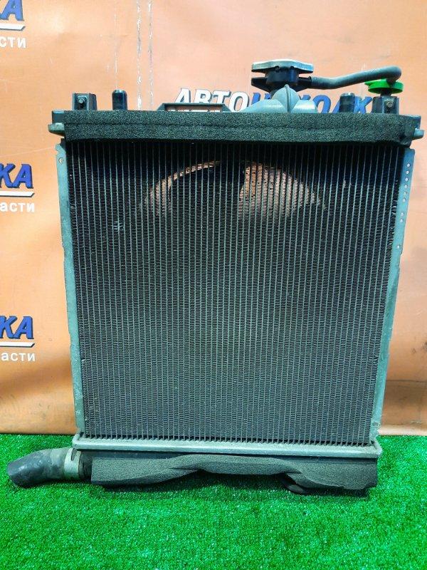 Радиатор двигателя Suzuki Wagon R MH23S K6A С ТРУБКАМИ ОХЛАЖДЕНИЯ. С ДИФФУЗОРОМ