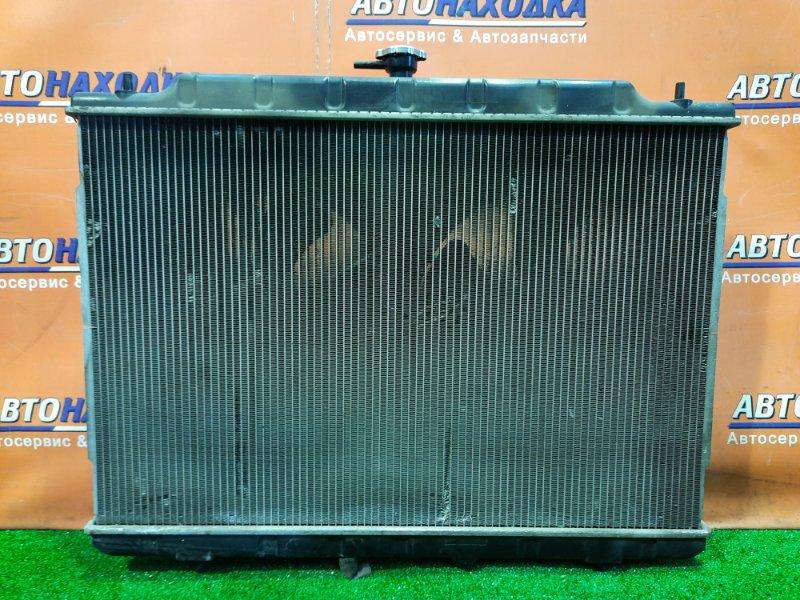 Радиатор двигателя Nissan Presage U31 QR25DE БЕЗ ТРУБОК ОХЛАЖДЕНИЯ. С ДИФФУЗОРОМ