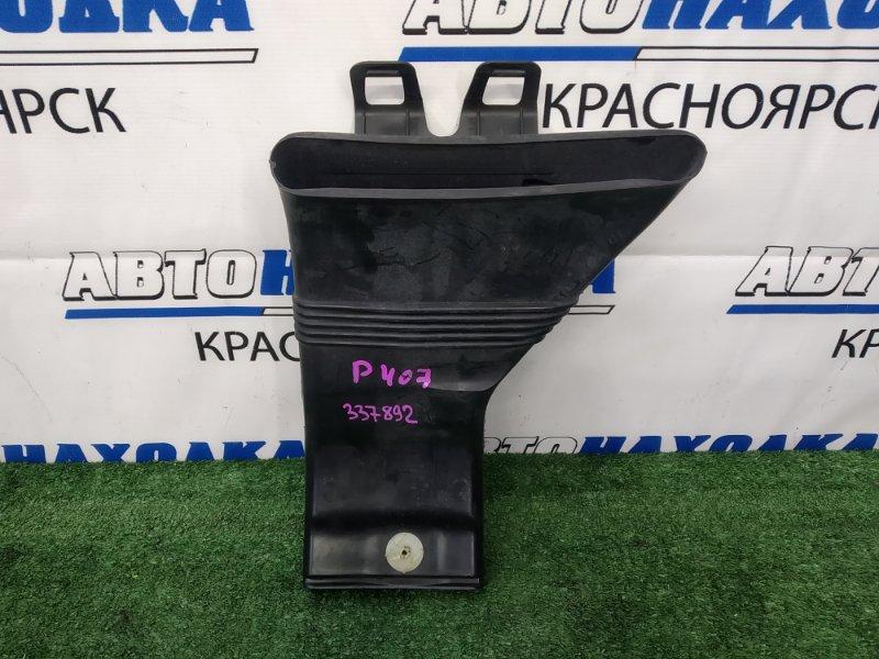 Воздухозаборник Peugeot 407 6D ES9A 2004 9652757680 на рамку радиатора