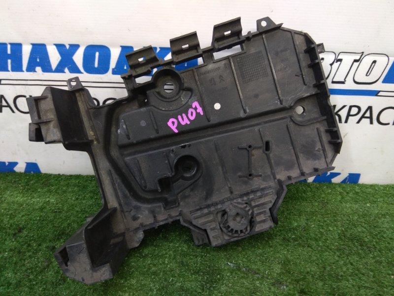Крепление аккумулятора Peugeot 407 6D ES9A 2004 9645693080 площадка под АКБ