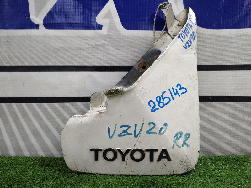 Брызговик Toyota Camry Prominent VZV20 1VZ-FE 1987 задний правый задний правый, есть потертости