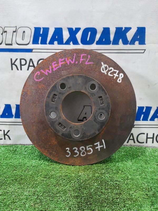 Диск тормозной Mazda Premacy CWEFW LF-VDS 2010 передний передний, диаметр 278 мм