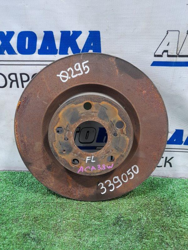 Диск тормозной Toyota Rav4 ACA38W 2AZ-FE 2005 передний передний, диаметр 295 мм