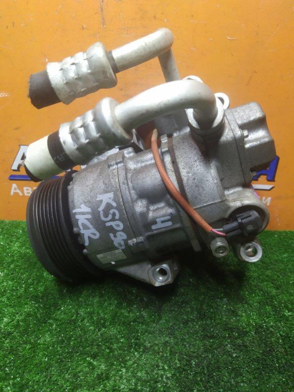 Компрессор кондиционера Toyota Vitz KSP90 1KR-FE 06.2010 447260-2333, 5SER09C
