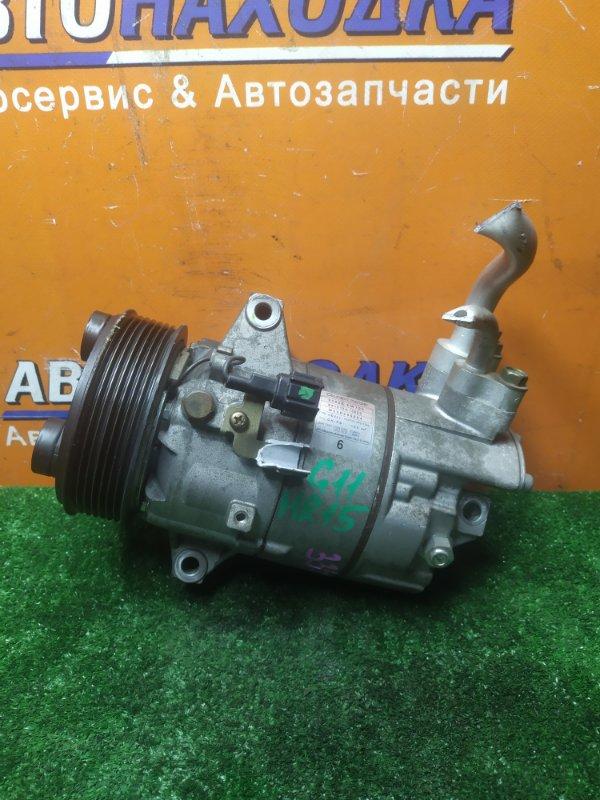 Компрессор кондиционера Nissan Bluebird Sylphy G11 HR15DE 12.2005 92600-EW700