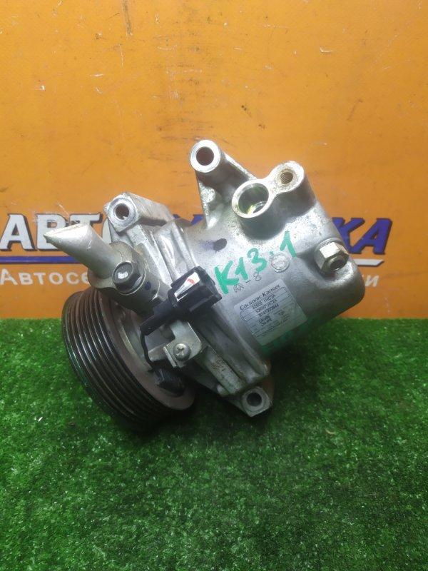 Компрессор кондиционера Nissan March K13 HR12DE 12.2014 92600-1HC2A