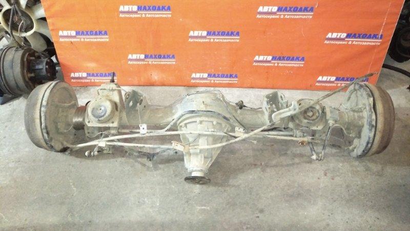 Мост Nissan Terrano Regulus JTR50 ZD30DDTI 1996 задний АКПП/в сборе/редуктор+ступицы бараб