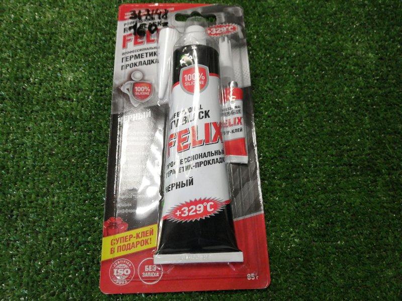 Герметик-прокладка черный felix 85 гр +Супер клей