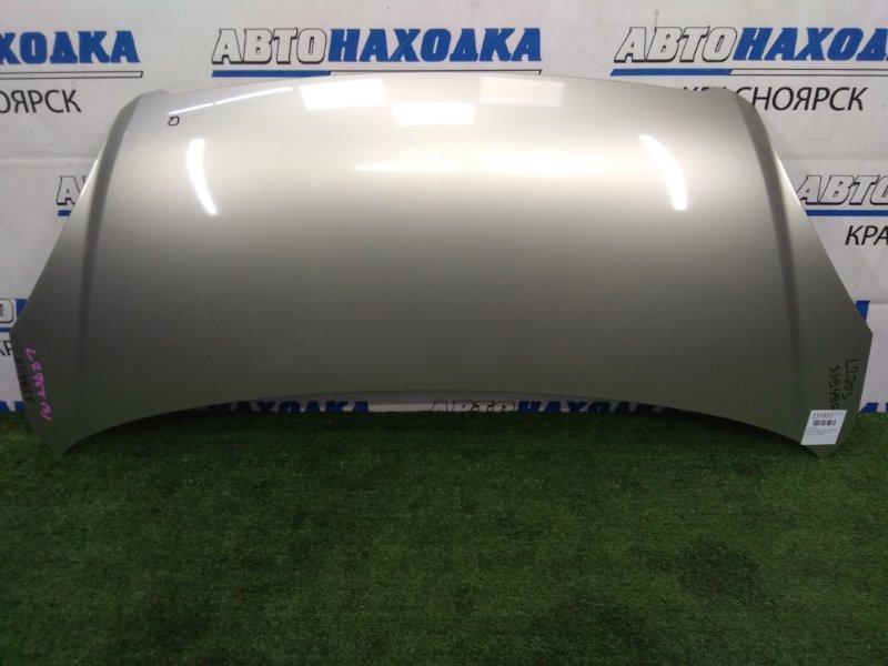 Капот Daihatsu Mira L275S KF-VE 2006 передний В целом ХТС, бежевый (T23), под полировку, есть вмятинка