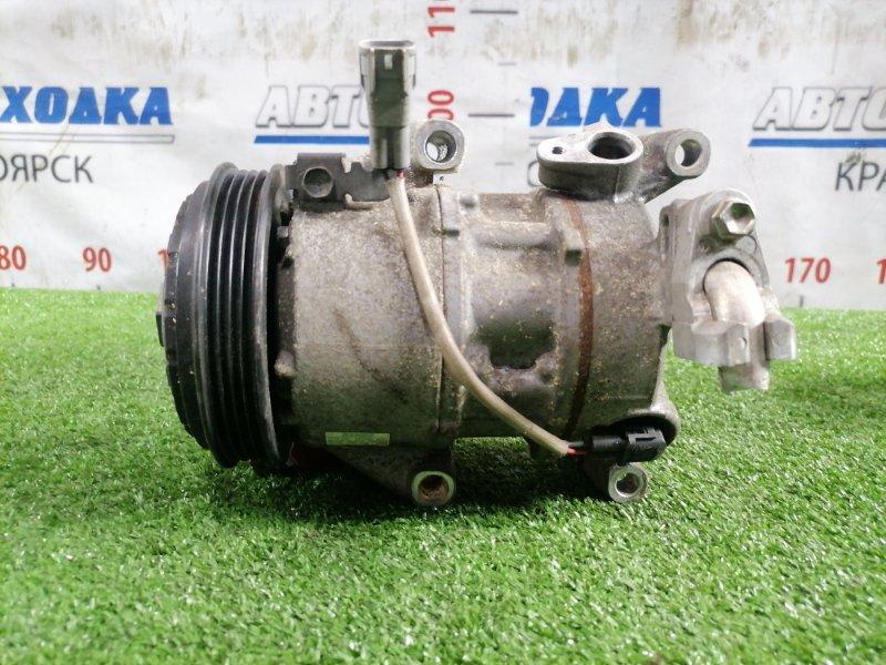 Компрессор кондиционера Toyota Vitz NSP130 1NR-FE 2010 447260-4201 фишка 2 контакта