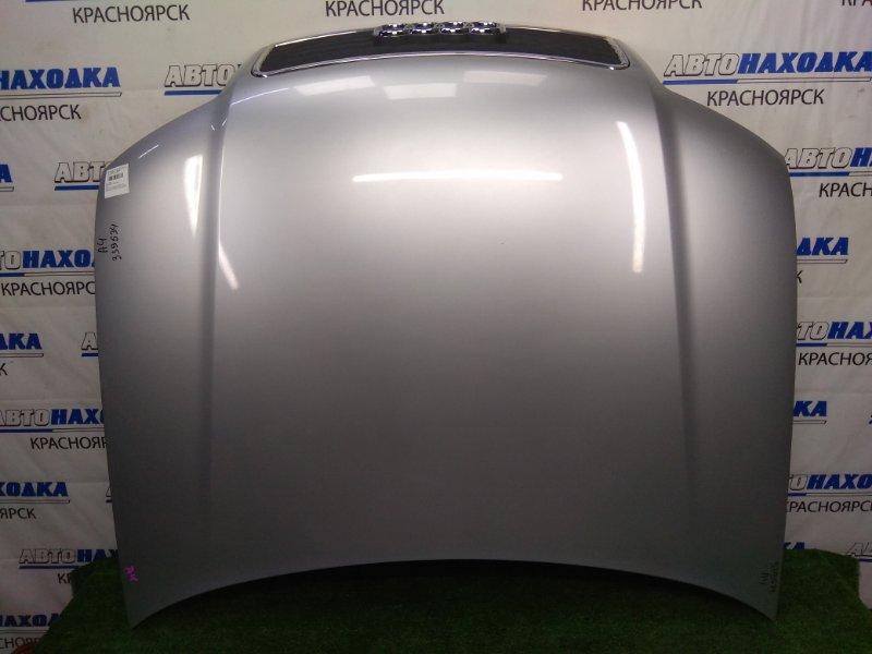 Капот Audi A4 B6 ALT 2000 передний В целом ХТС, серебристый (5B / Y7W), с решеткой, есть