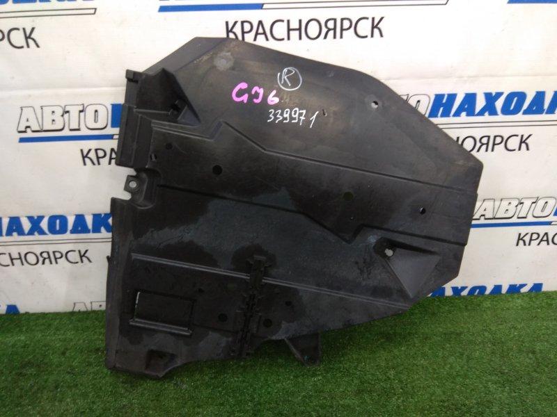 Защита топливного бака Subaru Impreza GJ6 FB20 2011 правая правая