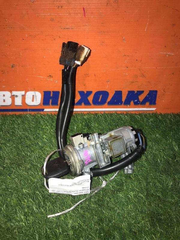 Замок зажигания Mitsubishi Delica PD6W 6G72 1997 +1 ключ