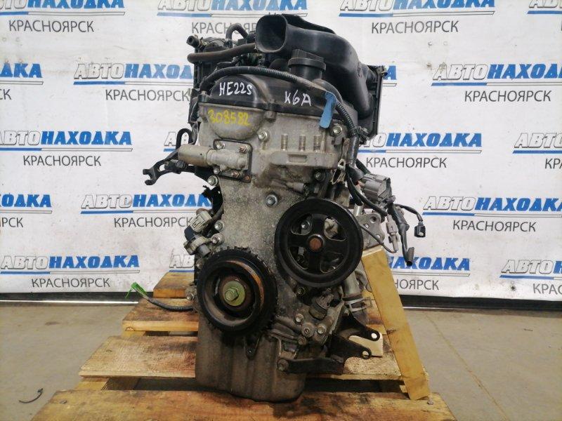 Двигатель Suzuki Alto Lapin HE22S K6A 2008 4773852 K6A № 4773852, пробег 34т. Без навесного, без выпускного