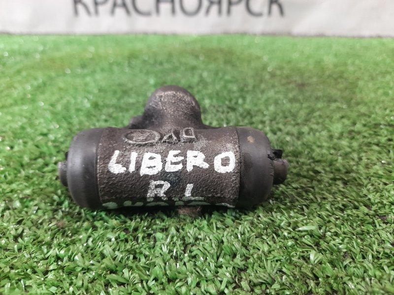 Рабочий тормозной цилиндр Mitsubishi Libero CB2W 4G15 1995 задний задний (L=R)