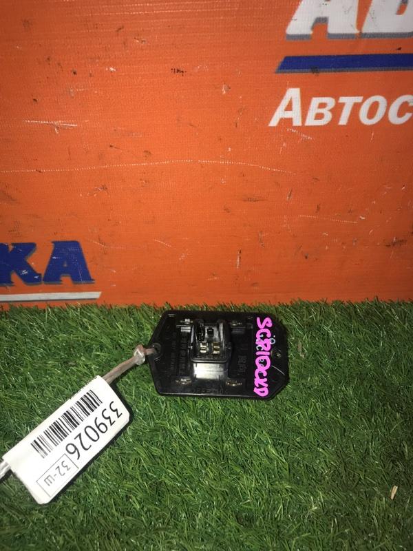 Реостат печки Toyota Vitz SCP10 1SZ-FE 2001 4 контакта