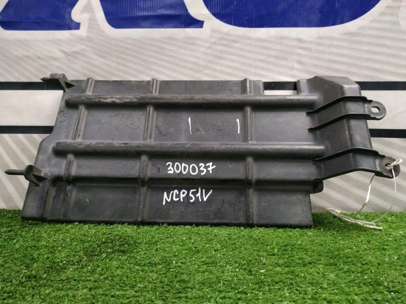 Защита двс Toyota Probox NCP51V 1NZ-FE 2002 правая 53289-52030 защита радиатора